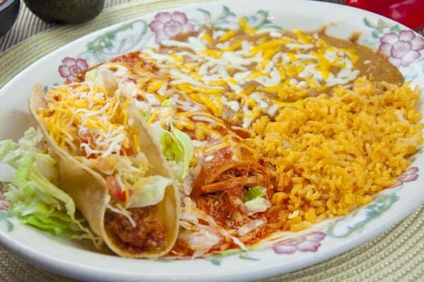 2 item combo fiesta mexicana