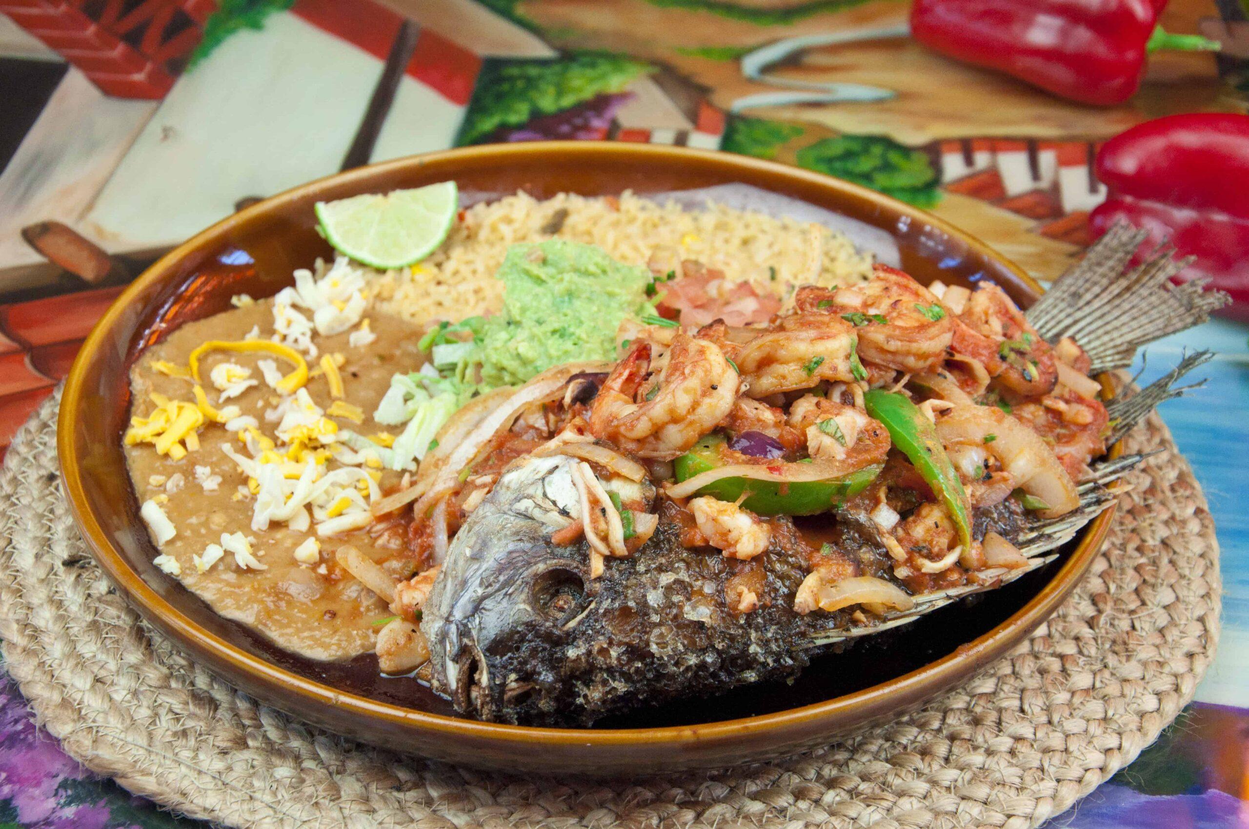 mojarra rellena fiesta mexicana