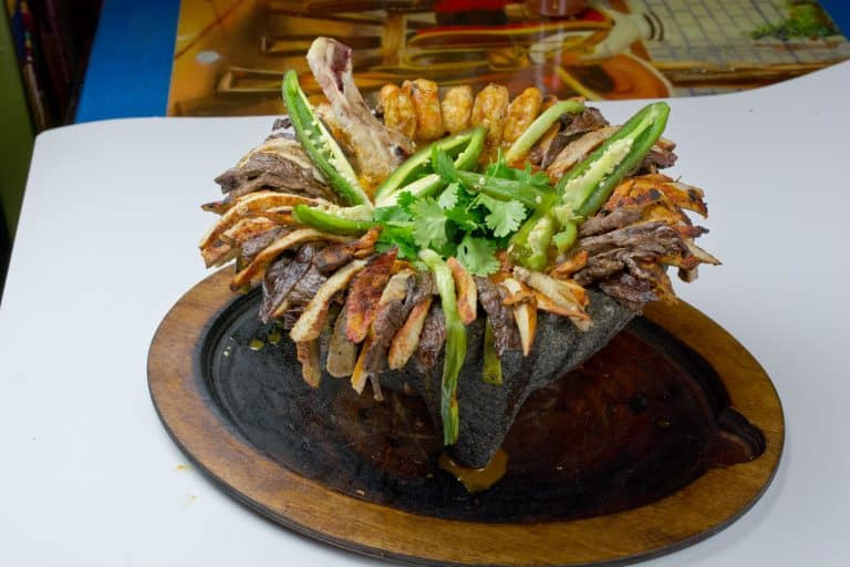 dinner for two fiesta mexicana molcajete